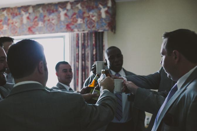 cheers wedding day