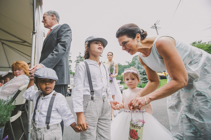designer ring bearers and flower girl