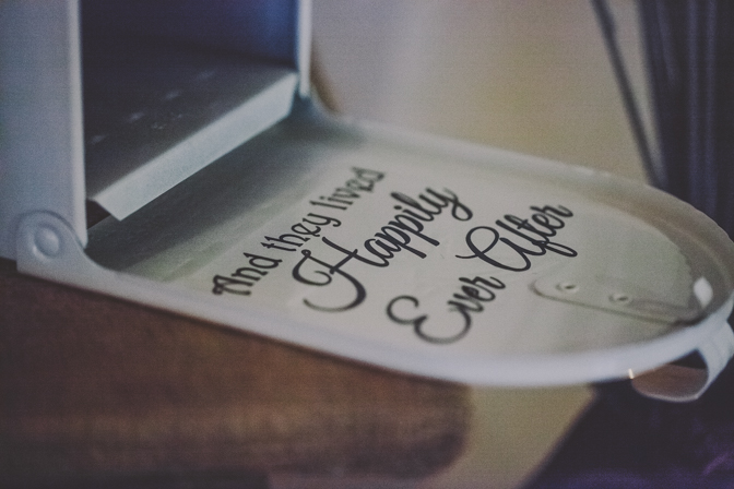 happily ever after wedding prop