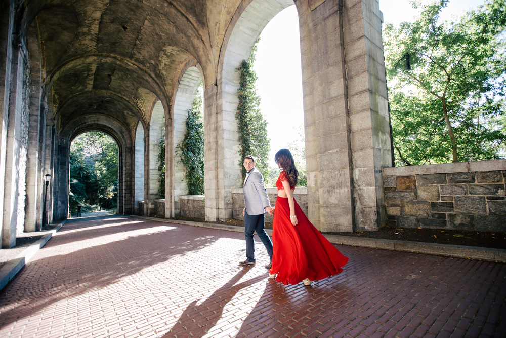 beautiful classy dressed up engagement photography