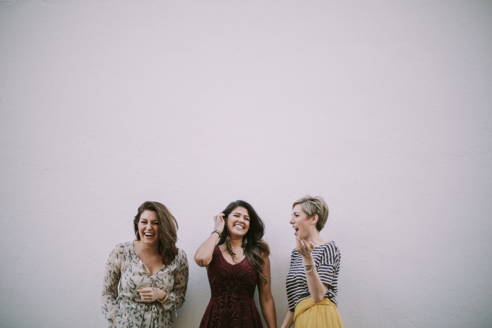 free people girls modeling and laughing