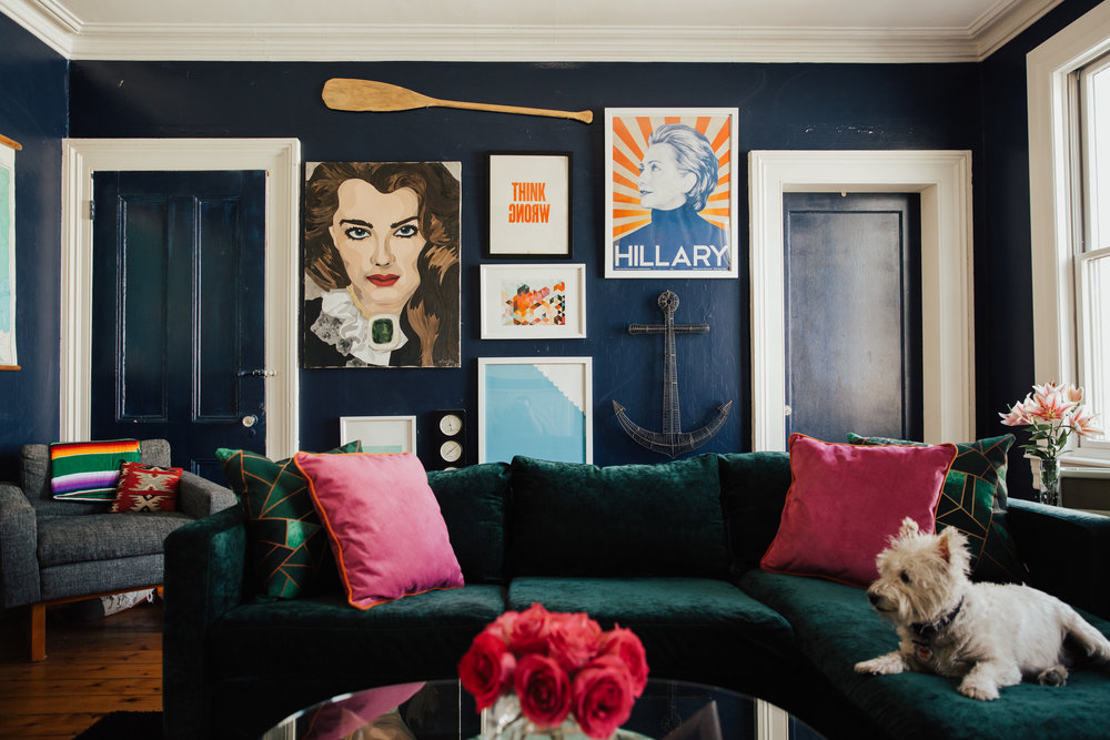 hipster williamsburg apartment decor inspiration