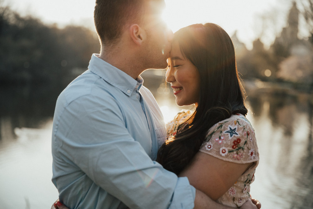 sunrise engagement shoot new york