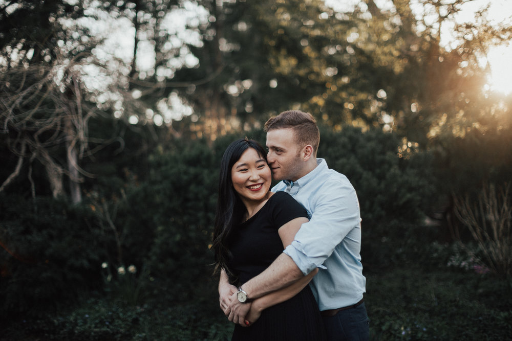 spring engagement shoot nyc