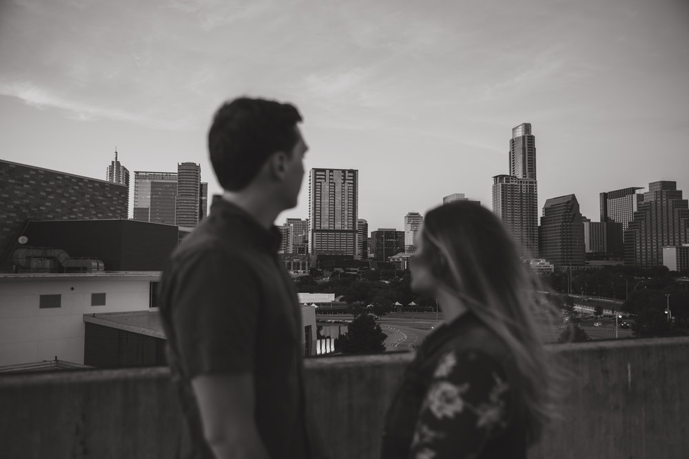 austin urban engagement shoot