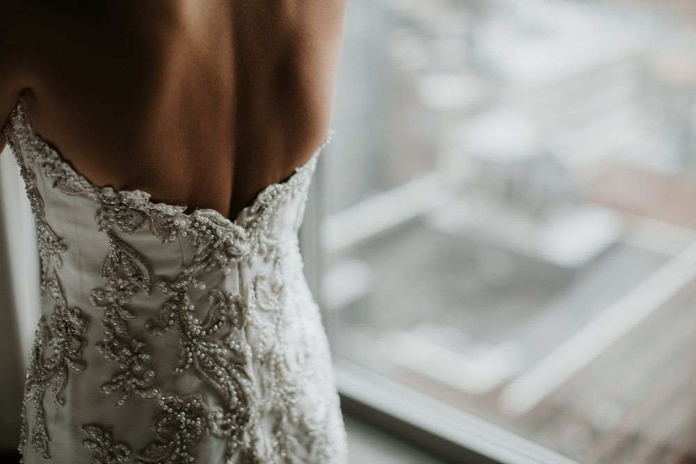 nyc wedding dress photo