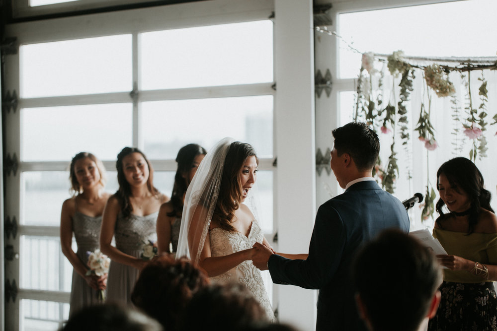 chelsea piers wedding photography