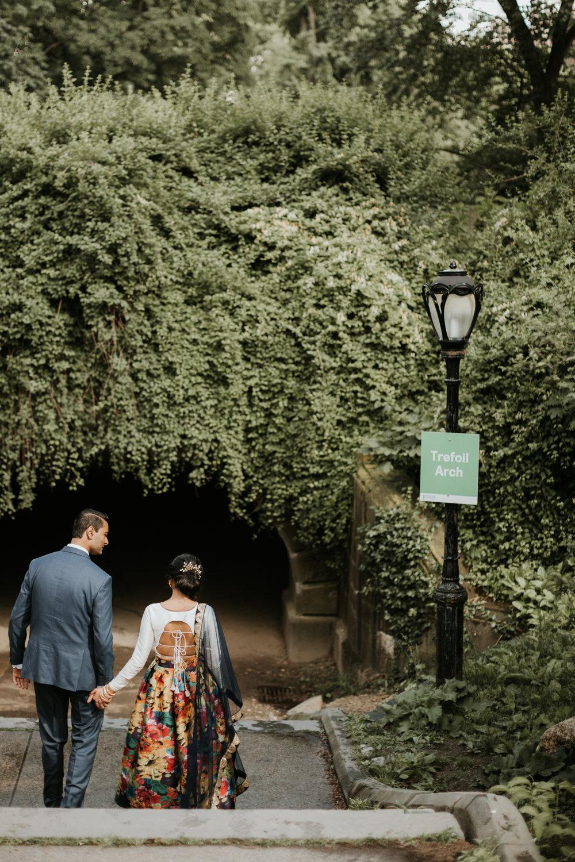 bryant park engagement photos