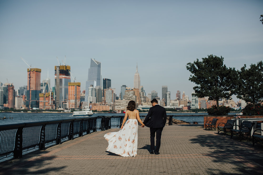 hoboken engagement photography