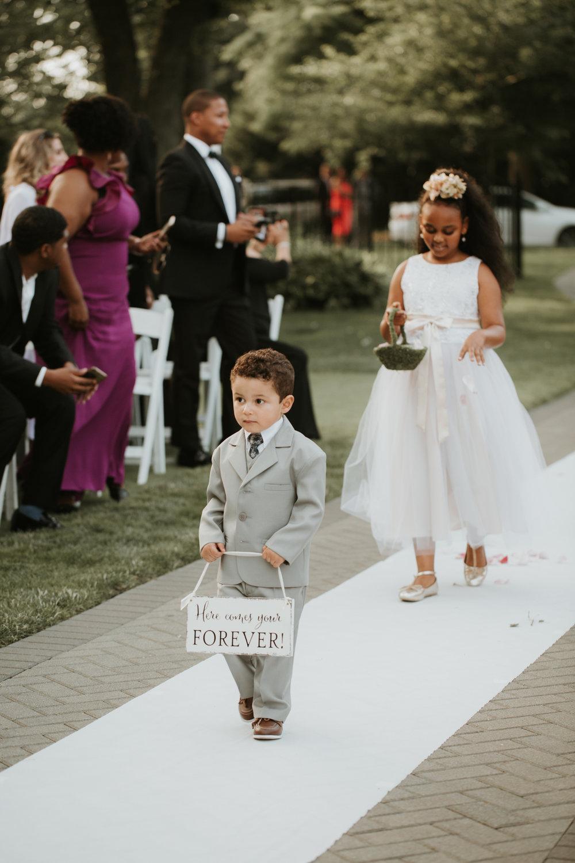ring bearer nyc wedding