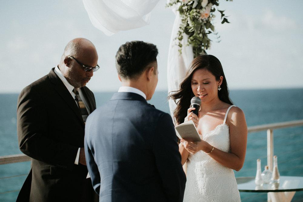 secrets aura cozumel wedding