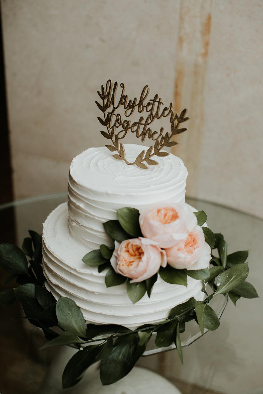 aleta restaurant wedding cake