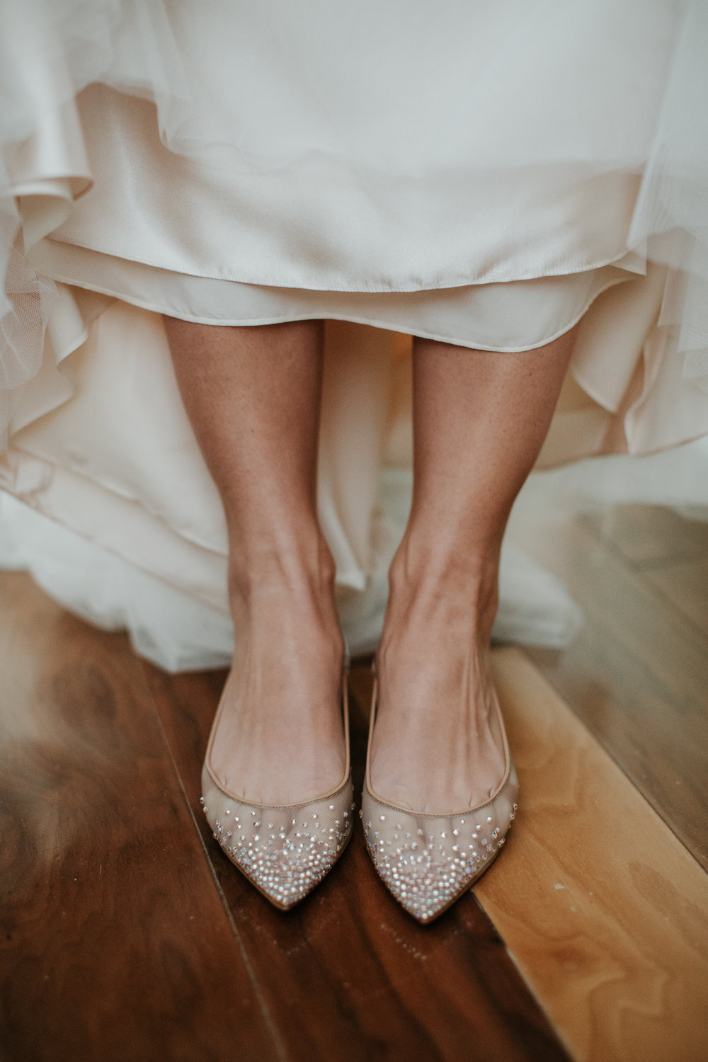 louboutin wedding flats