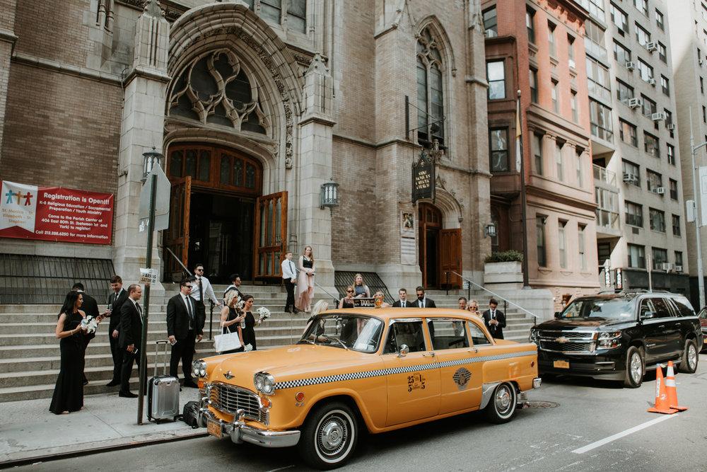 vintage taxi nyc