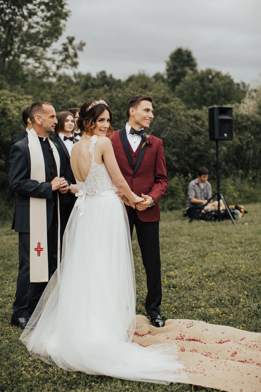audrey's farmhouse summer wedding