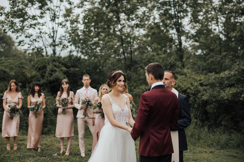 audrey's farmhouse bohemian wedding