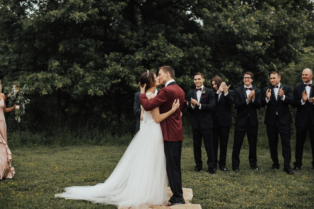 audrey's farmhouse rustic wedding