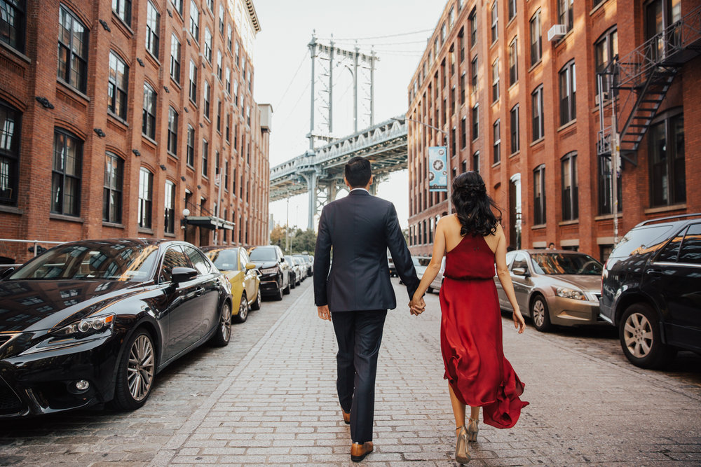 dumbo brooklyn engagement