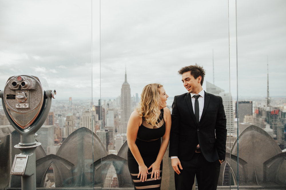 fun engagement shoot nyc