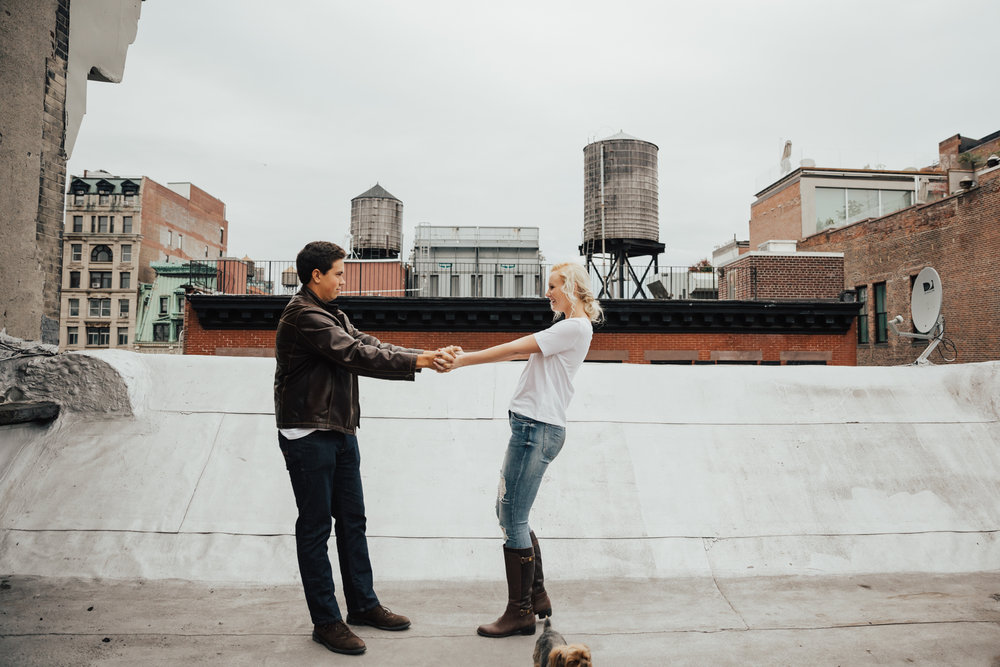 creative engagement photographer nyc