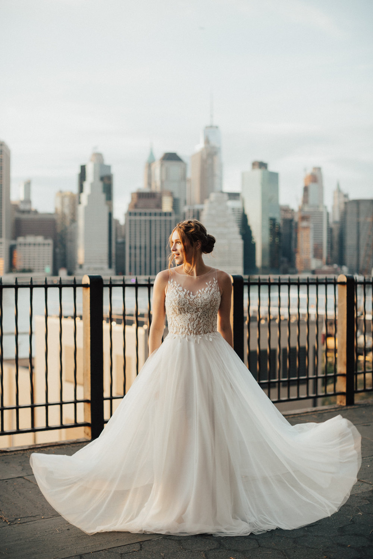 nyc romantic wedding photographer
