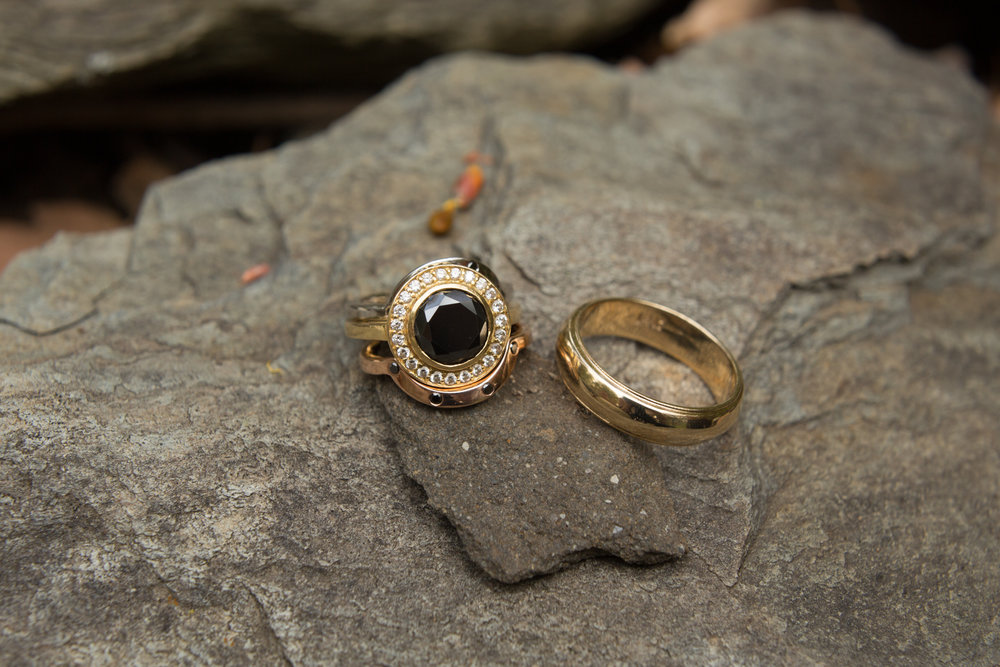offbeat engagement rings