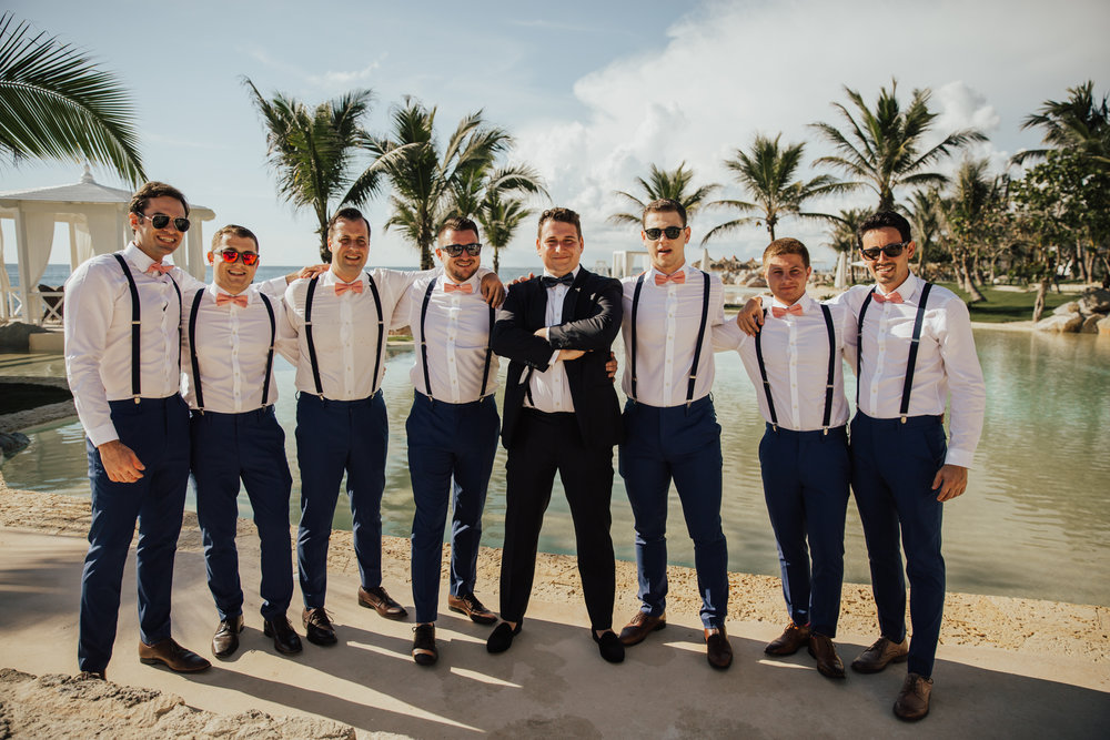 beach attire wedding