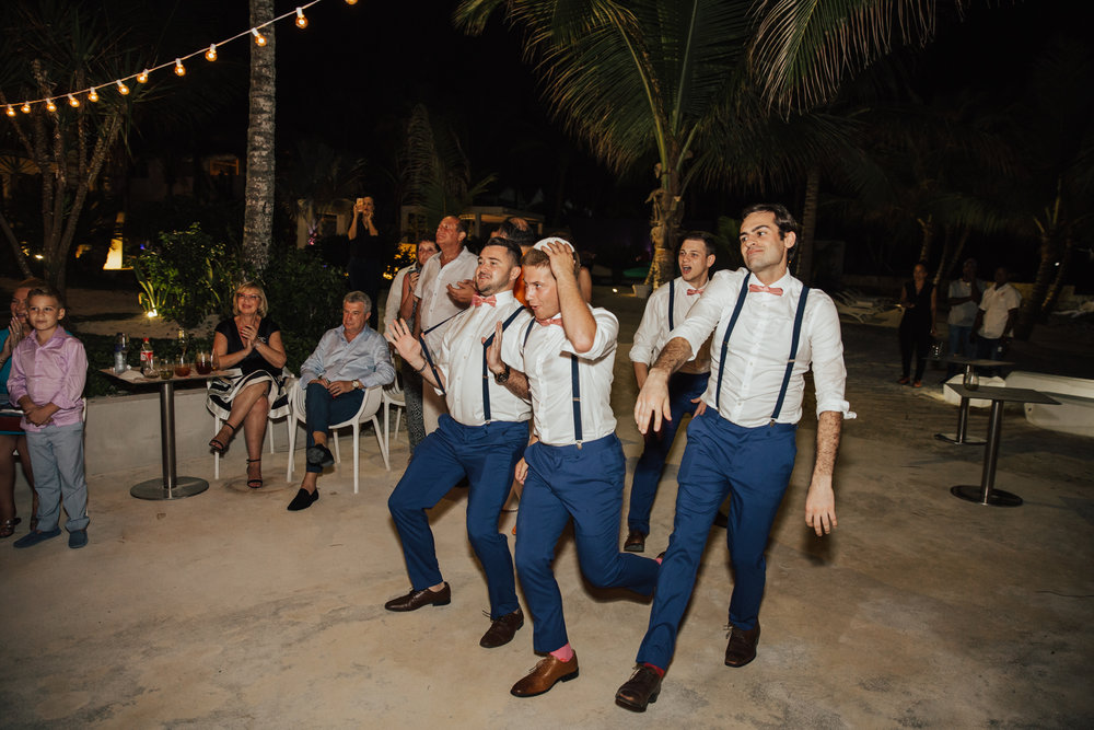 fun groomsmen dance