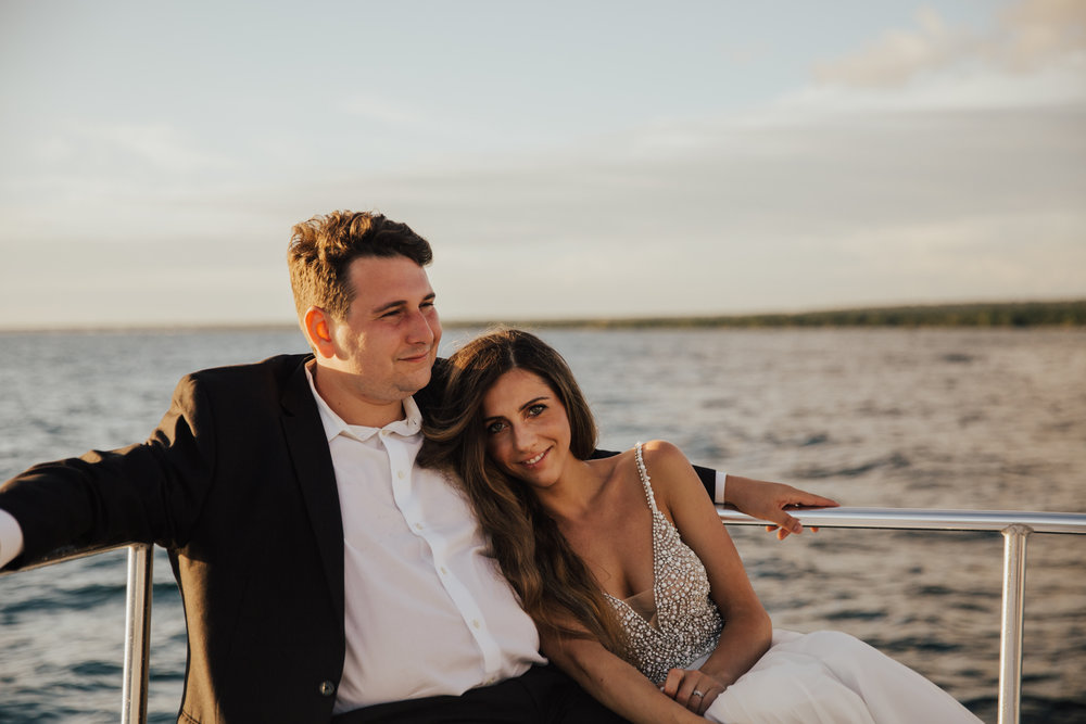 mexico boat elopement