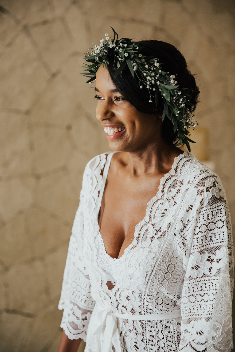 anthropologie wedding robe