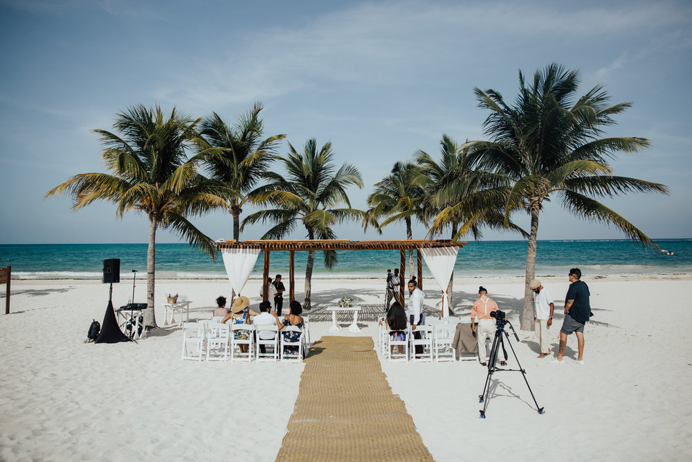 Papaya Playa Tulum wedding