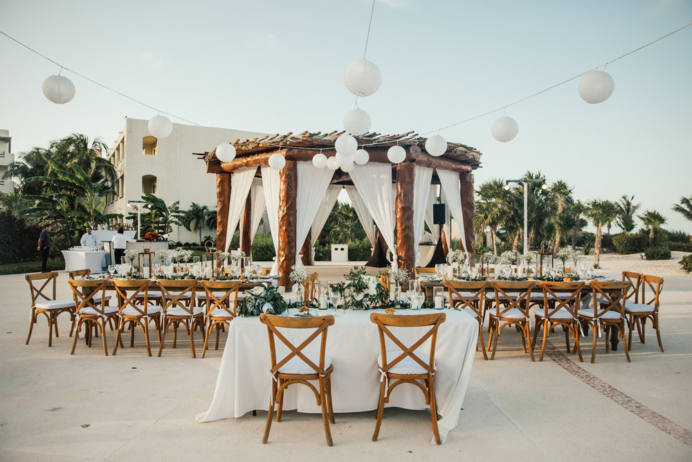 boho chic intimate mexico wedding