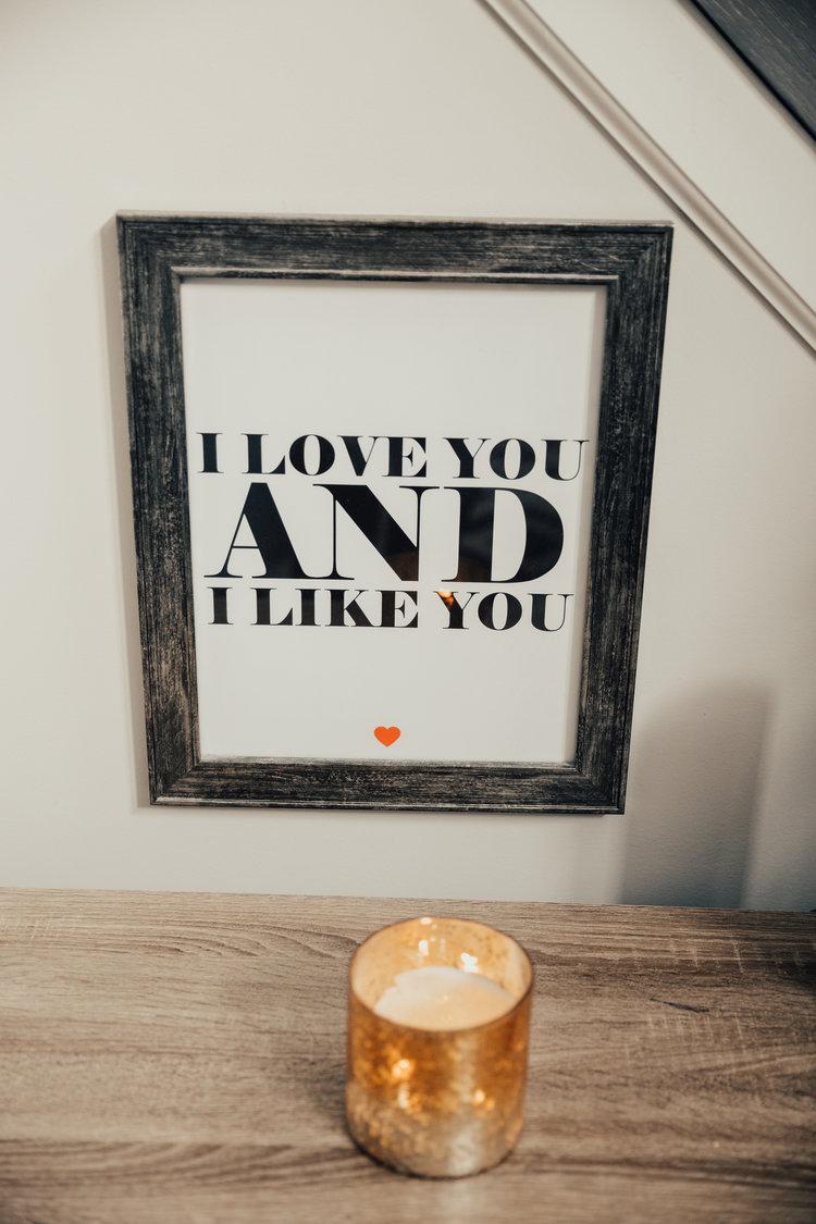 Lauren + Matt in home engagement session — Forever Photography ...