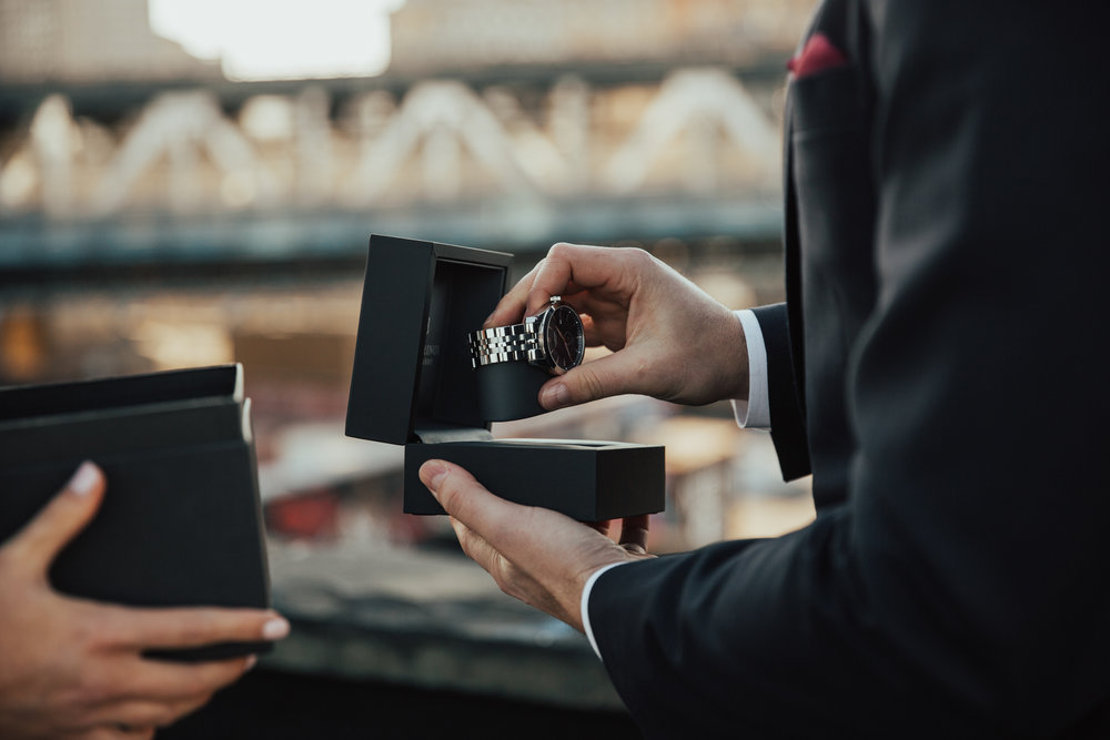 watch groom gift