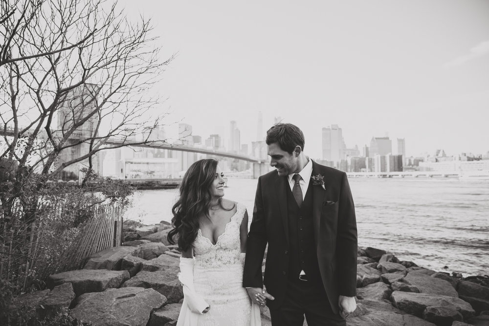 dreamy romantic nyc wedding photography