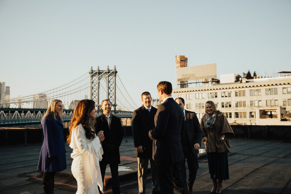 intimate elopement brooklyn ny