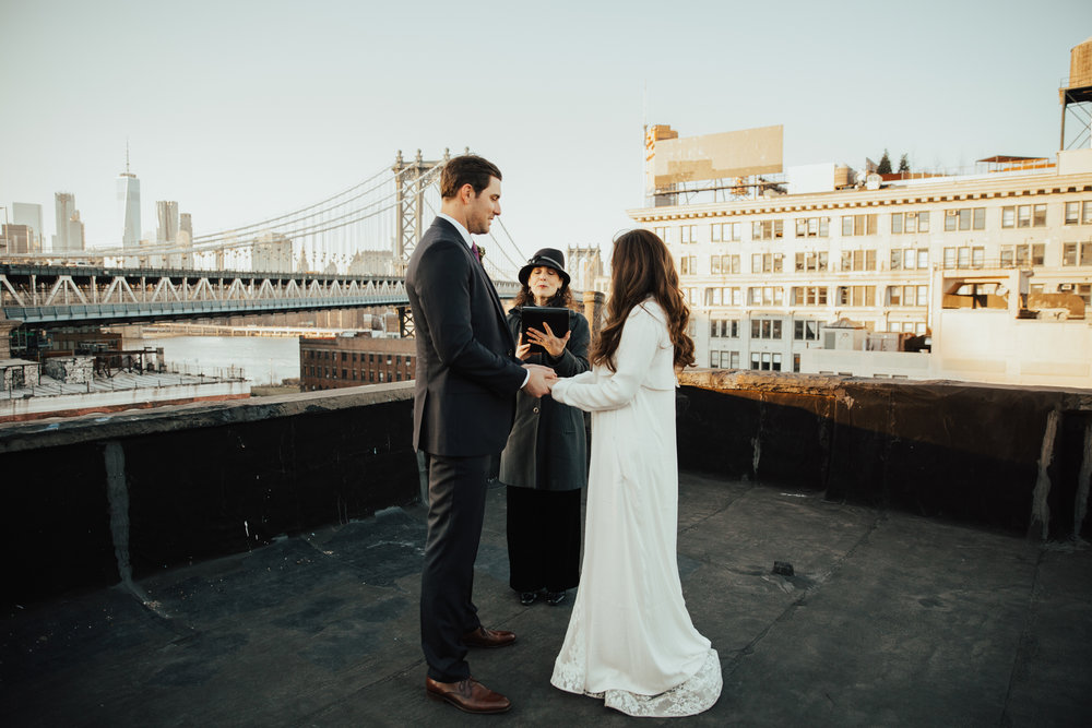 New York Rooftop Elopement