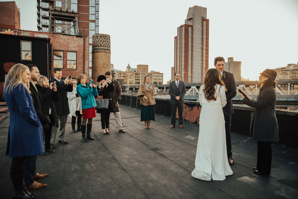 Dumbo Rooftop elopement