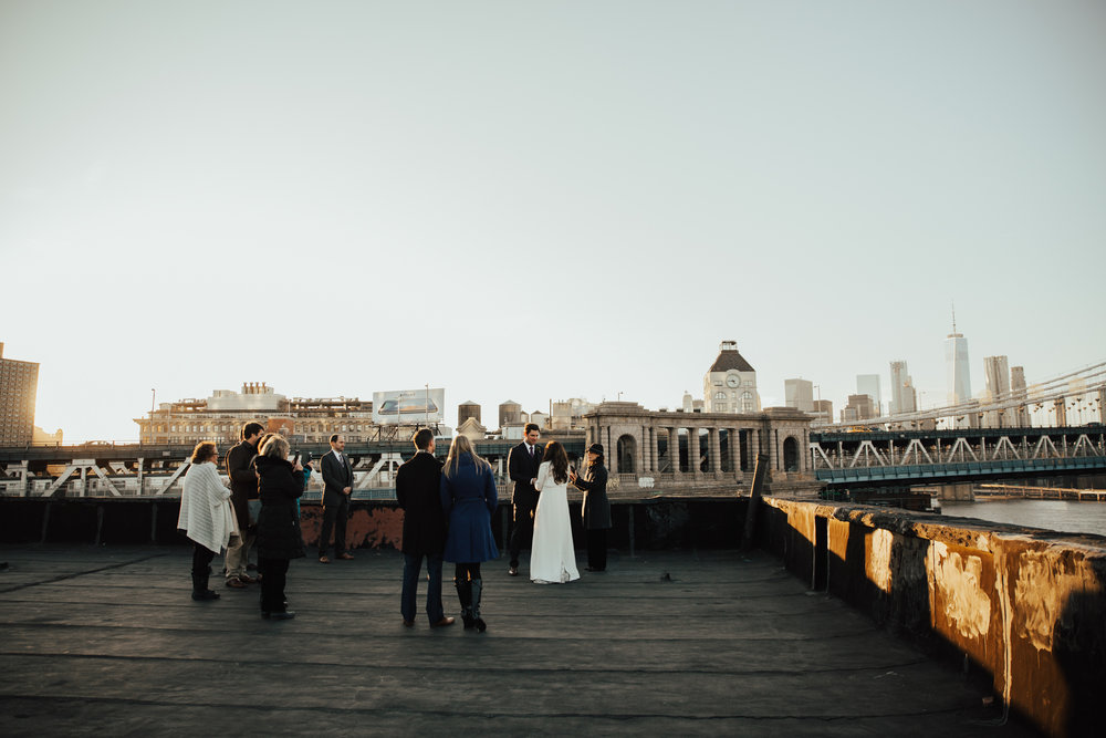 intimate new york elopement