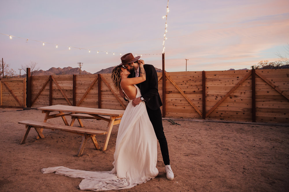 First dance under the stars