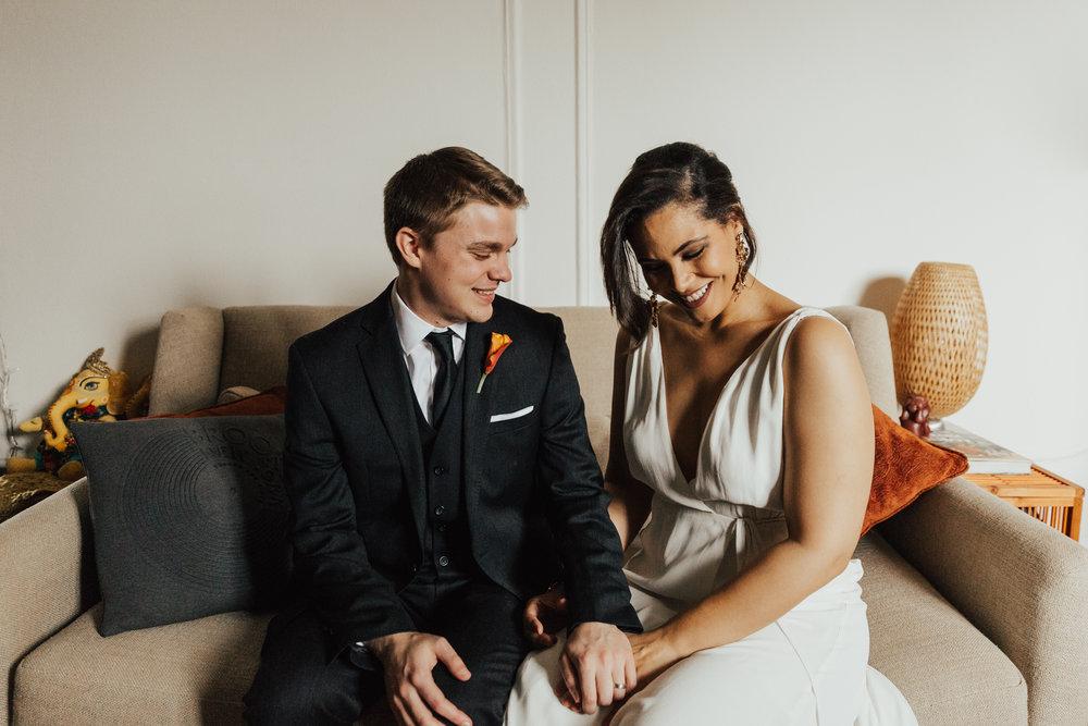 nyc cozy elopement