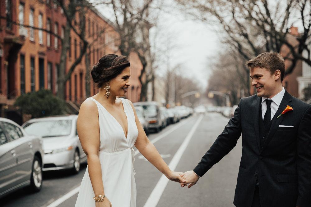Brooklyn Romantic wedding photography