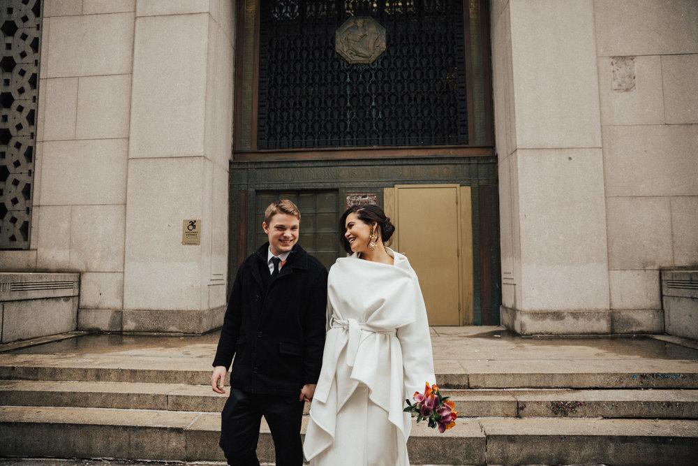 Metropolitan building wedding