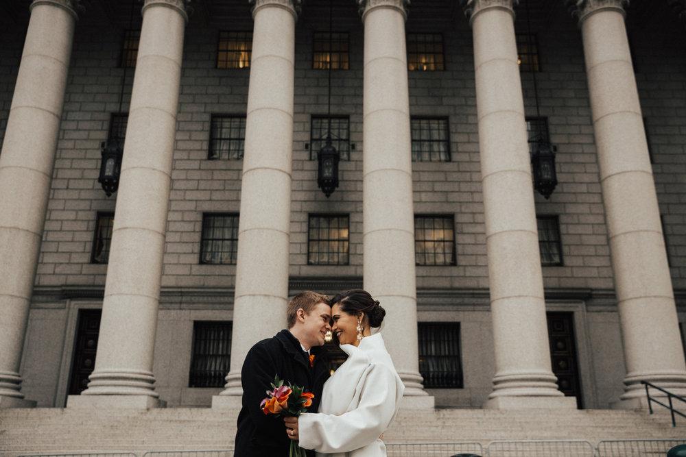 new york winter elopement