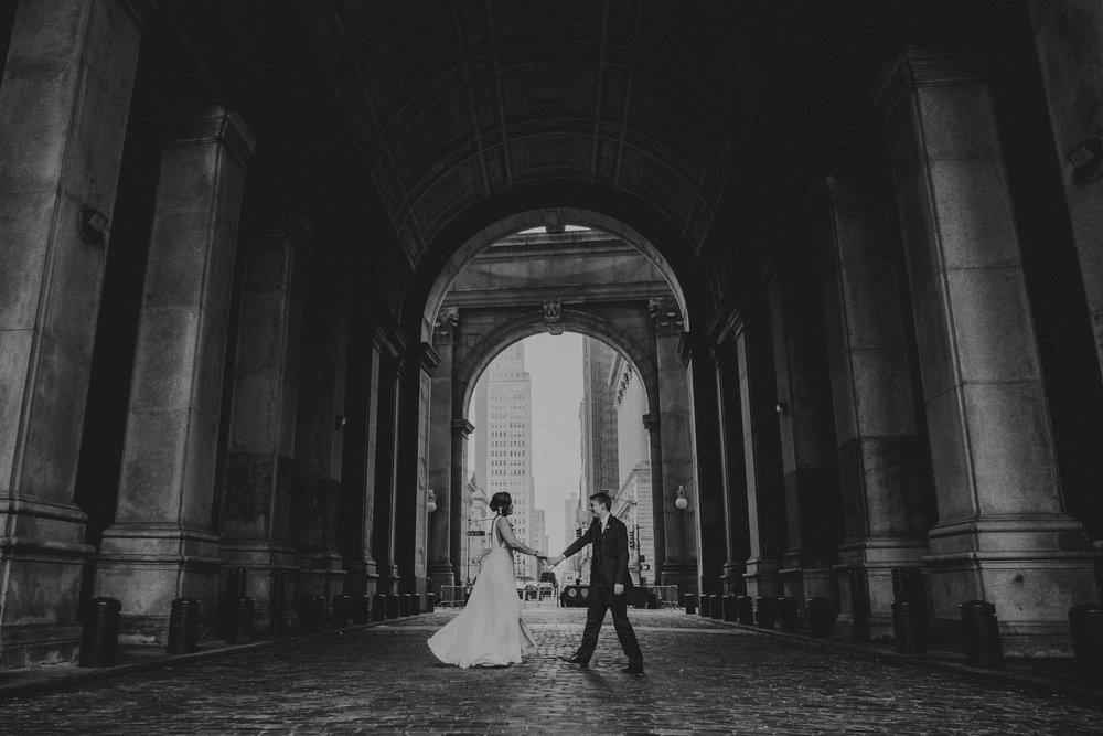 new york romantic artistic wedding photography