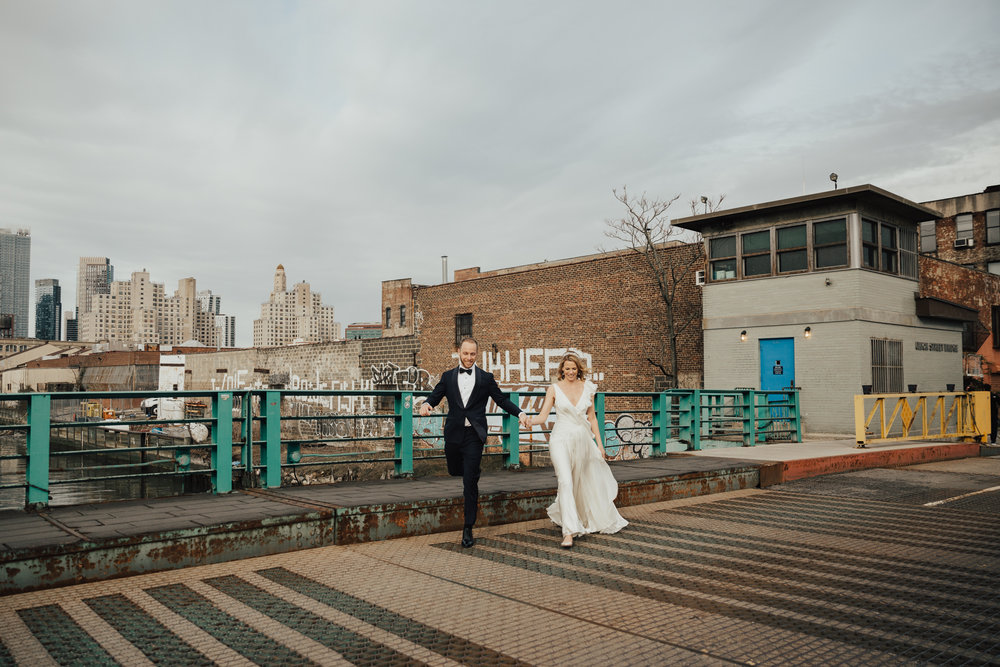 NYC candid wedding photography