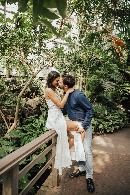 passionate wedding photos nyc