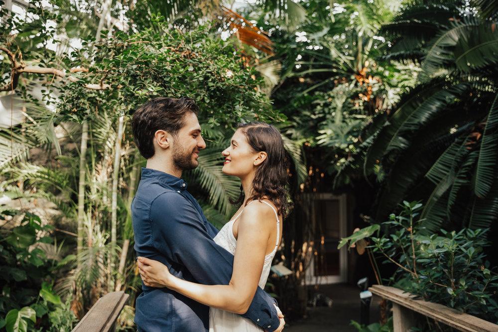 brooklyn greenhouse wedding