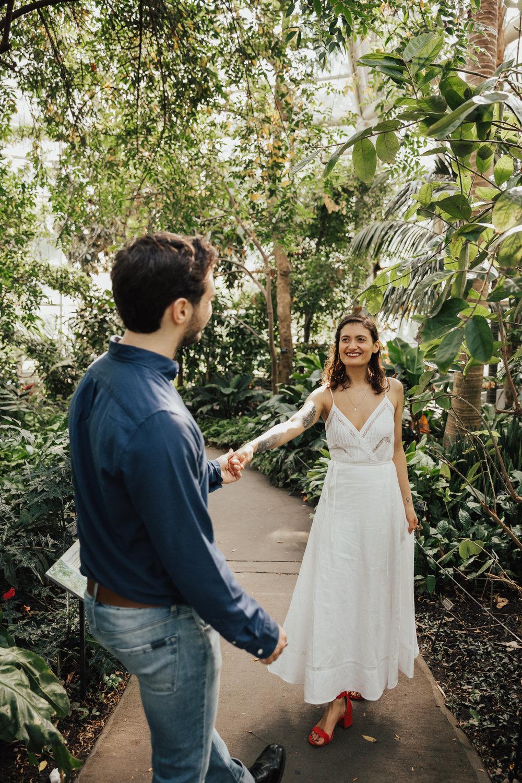 wave hill gardens wedding