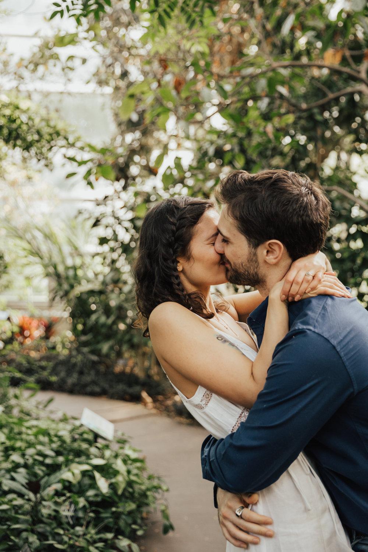 New York Romantic wedding photography